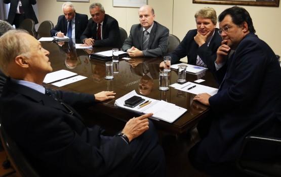 Reunião com integrantes da Frente Parlamentar Mista do Gás Natural - NF ministrpo Eduardo Braga - 29-07-2015 -Fotógrafo: Francisco Stuckert/MME